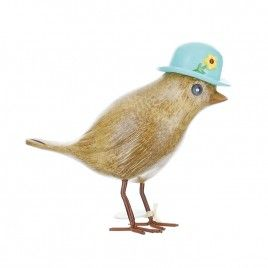 dcuk bird blue hat