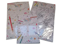 Adult Colouring Books Set