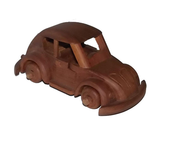 Automobilia - VW Beetle Wooden Car
