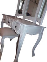 Bedside Tables & Cabinets - Large Shabby Chic Dressing Table
