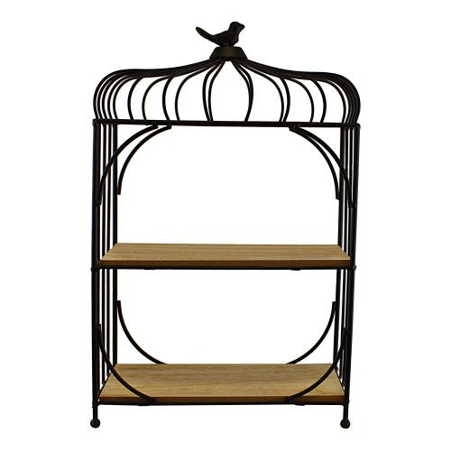 bird cage shelf