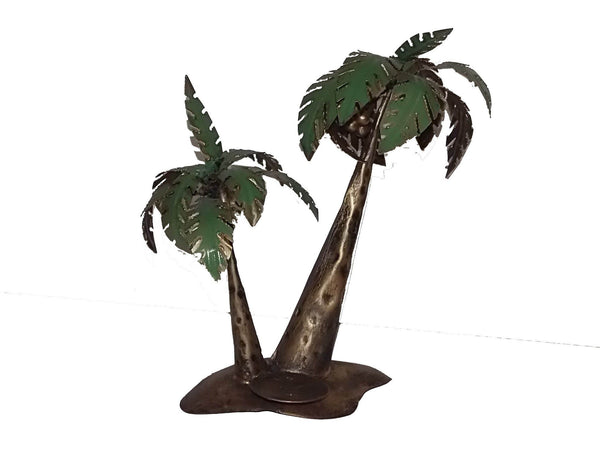 Candle & Tea Light Holders - Palm Tree Tealight Holder
