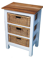 Chests Of Drawers - Rattan Chest Of Drawers