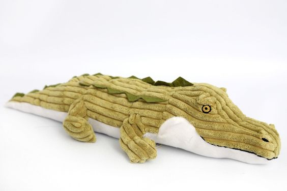 crocodile doorstop
