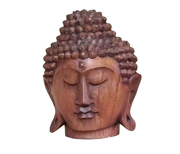 Decorative Ornaments & Figures - Buddha Head