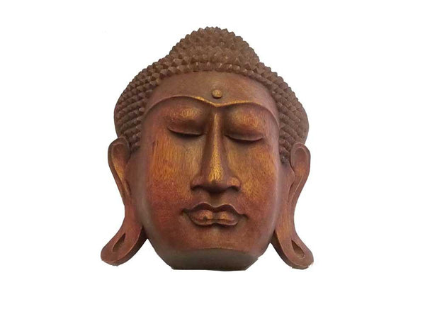 Decorative Ornaments & Figures - Buddha Mask 33 Cm