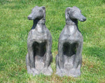Decorative Ornaments & Figures - Garden Dog Statue Set