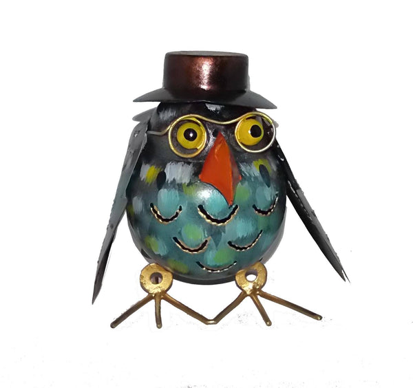 Decorative Ornaments & Figures - Owl In Hat