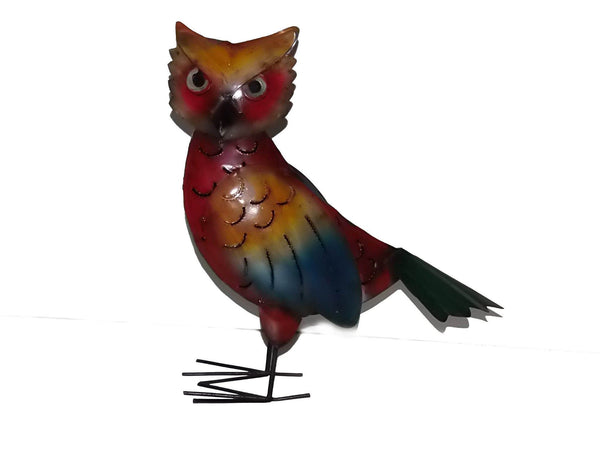 Decorative Ornaments & Figures - Owl Metal Ornament