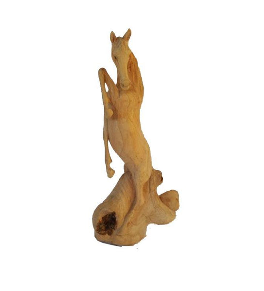 Decorative Ornaments & Figures - Parasite Wood Horse