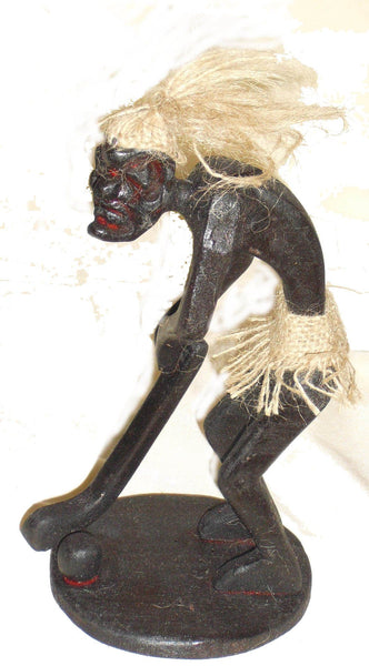 Decorative Ornaments & Figures - Sporting Asmat Figures