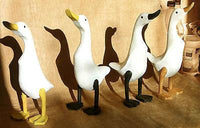 Decorative Ornaments & Figures - Wooden Ducks Large Custom Painted