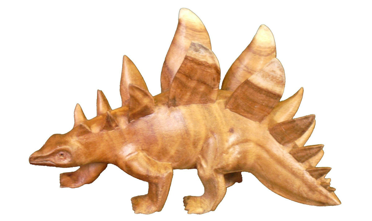 dinosaur stegosaurus wood carving 1 1200x1200