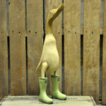 duck in wellies