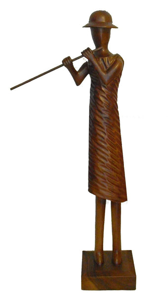 Figurines/Figures/Groups - Music Figures Wooden Statue