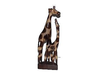 Figurines - Giraffe With Baby