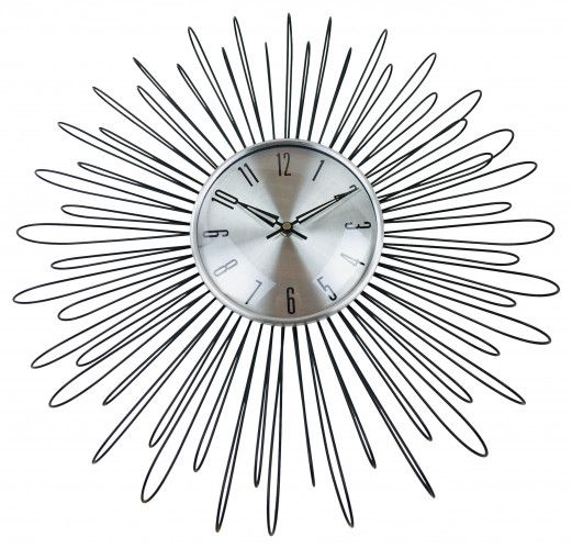 metal loop clock