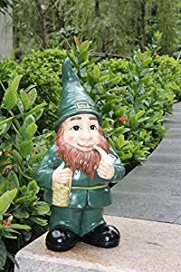 Lucky Irish Leprechaun Garden Statue
