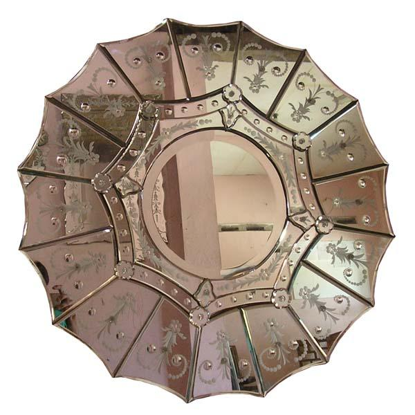 Mirrors - Sunburst Venetian Mirror
