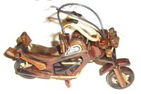 Motorcycle/ Scooter - Harley Davidson Motor Cycle  Wooden Ornament