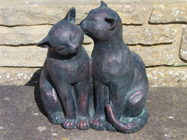 Other Garden Ornaments - Cat Couple Garden Ornament