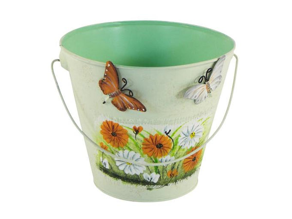 Other Garden Ornaments - Metal Planter Bucket