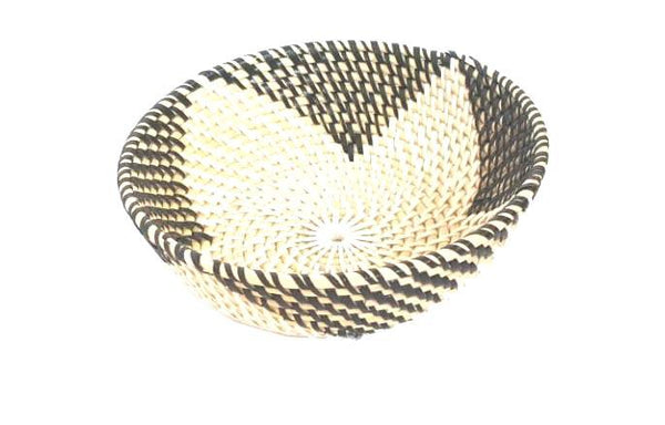 Plates & Bowls - Rattan Deep Two Tone Bowl