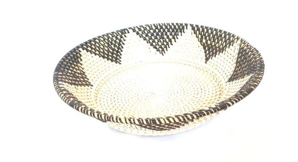Plates & Bowls - Rattan Fruit Bowl ( Two Tone)