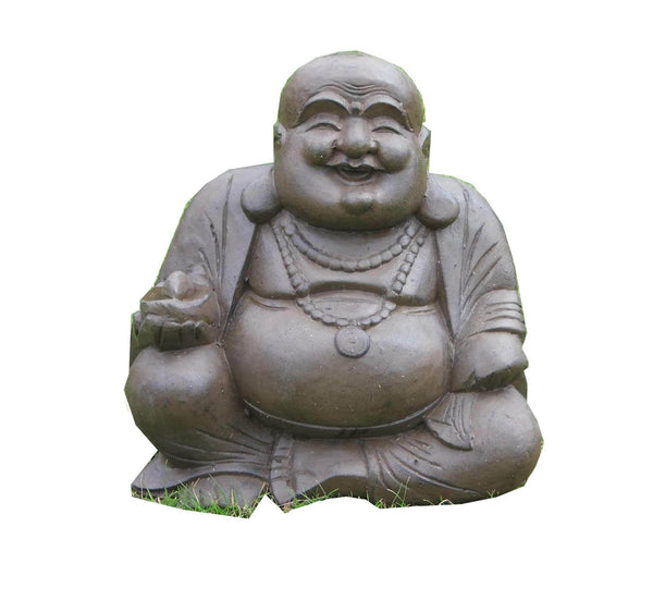Sculptures - Fat Garden Buddha Sitting
