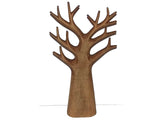 Wooden ornamental tree