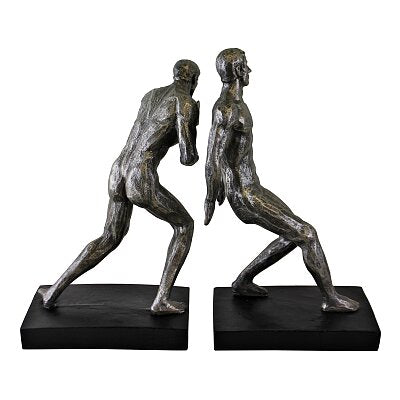 statue bookends
