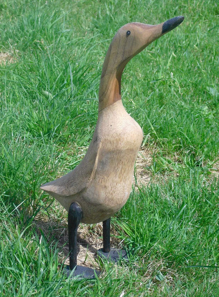 Statues & Lawn Ornaments - Wooden Ducks From Bamboo Root,  Large