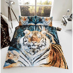 Animal print duvet set Tiger (single)