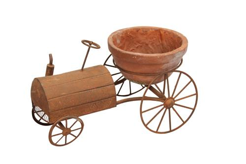 Tractor Flower Pot Planter