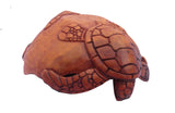 Wooden bowl Turtle decorative