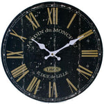 Black French clock