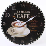 Wall Clocks - Cafe Wall Clock