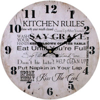 Wall Clocks - Kitchen Rules Clock