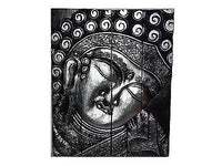 Wall Hangings - Buddha Wall Plaque Silver