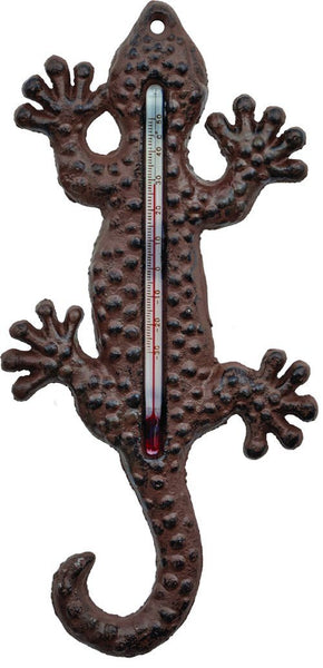 Wall Hangings - Lizard Thermometer