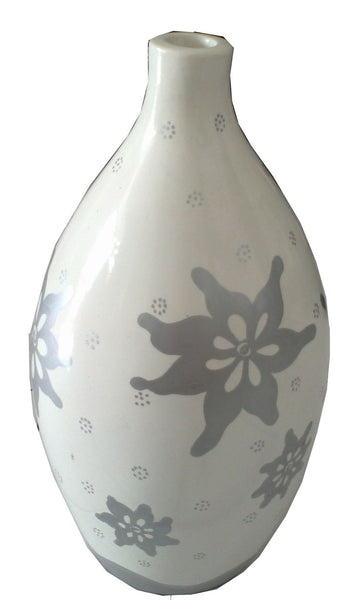 White Decorative Vase 36 Cm