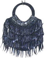 Women's Handbags - Hand Bags From Beads And Sequins