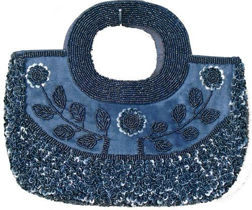 Women's Handbags - Hand Bags From Beads And Sequins For Occasions