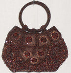 Women's Handbags - Hand Bags From Beads And Sequins In Various Colours