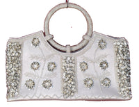 Women's Handbags - Large Hand Bags From Beads And Sequins,