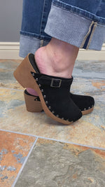 Corkys Myra Clog in Black Fit Video