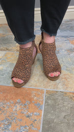 Corkys Sunburst II Wedge in Leopard Video