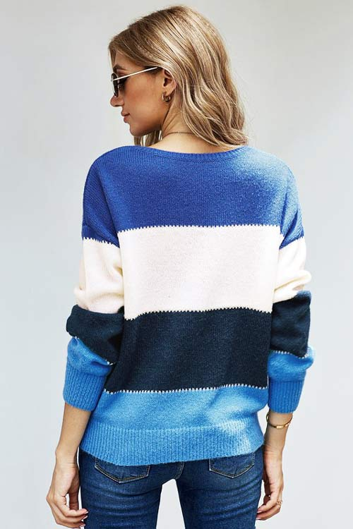 Clothing Chilly Days Color Block Sweater by ATG A.T.G. Exclusives