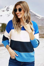 Clothing Chilly Days Color Block Sweater by ATG Small A.T.G. Exclusives