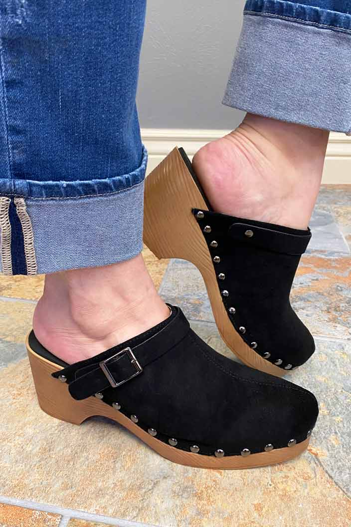 Shoes Corkys Myra Clog in Black 6 Corkys Footwear